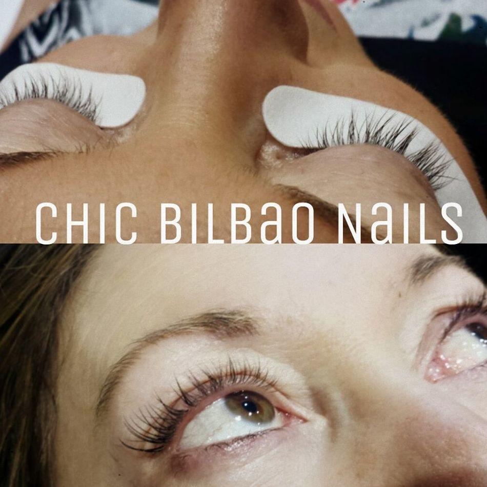 Lifting de pestañas en Chic Bilbao Nails