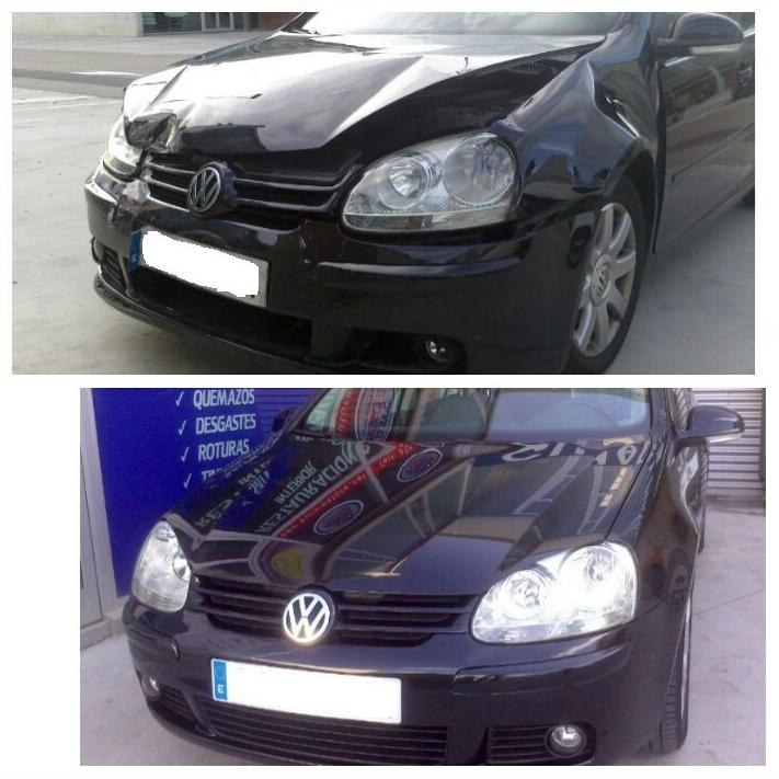 Rep. golpe frontal VW Golf