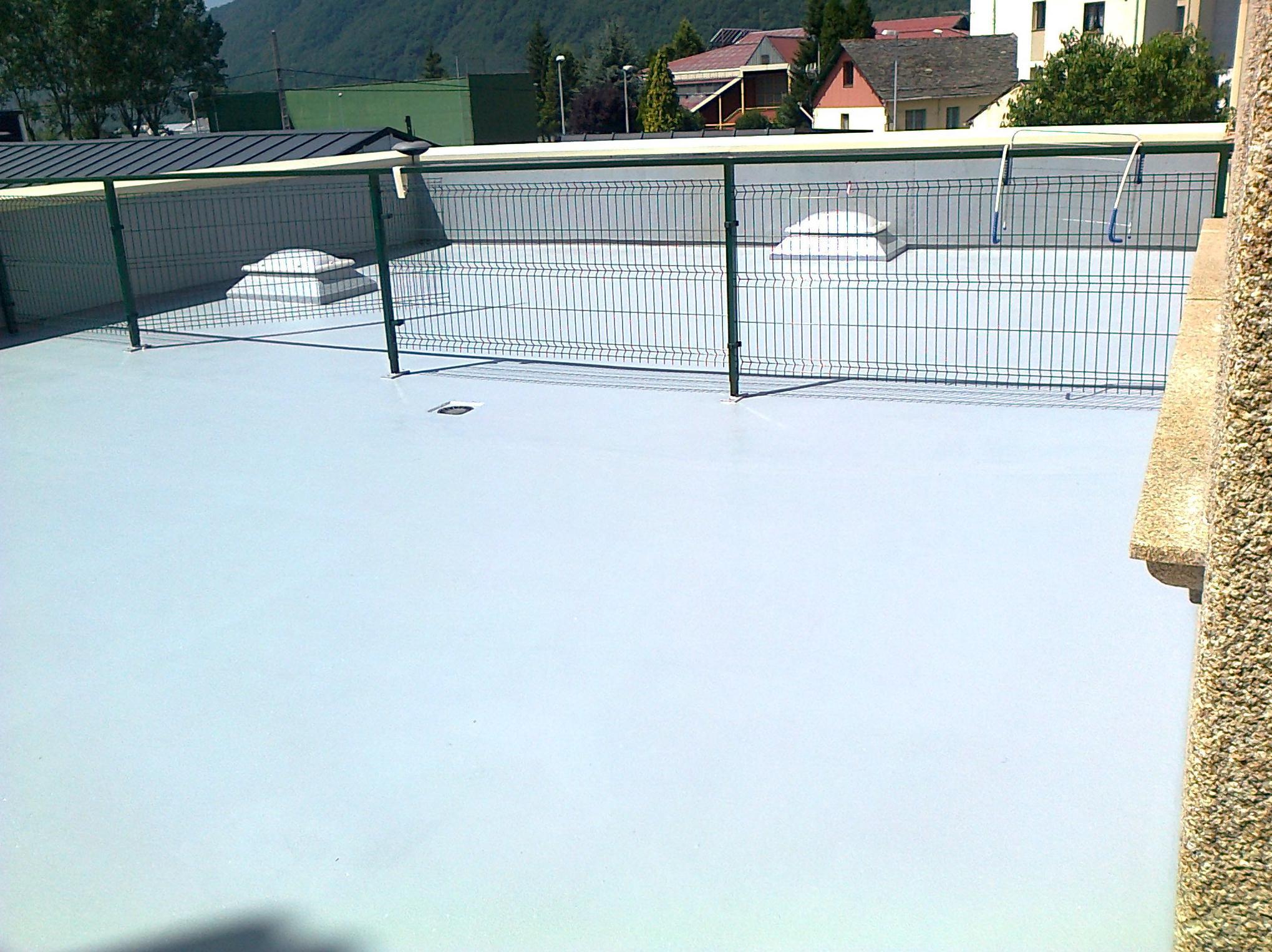 Impermeabilizacion de terraza mediante sistema propio sin necesidad de obra de albañileria