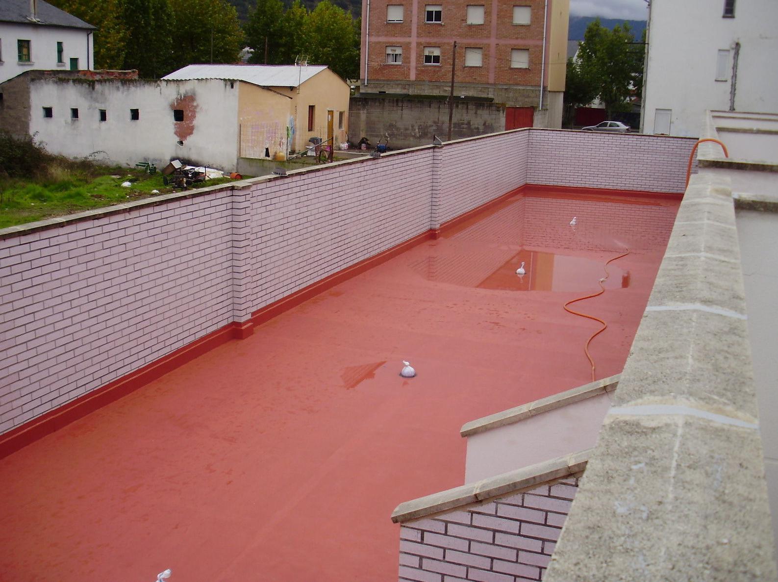 Impermeabilizacion terraza visitable