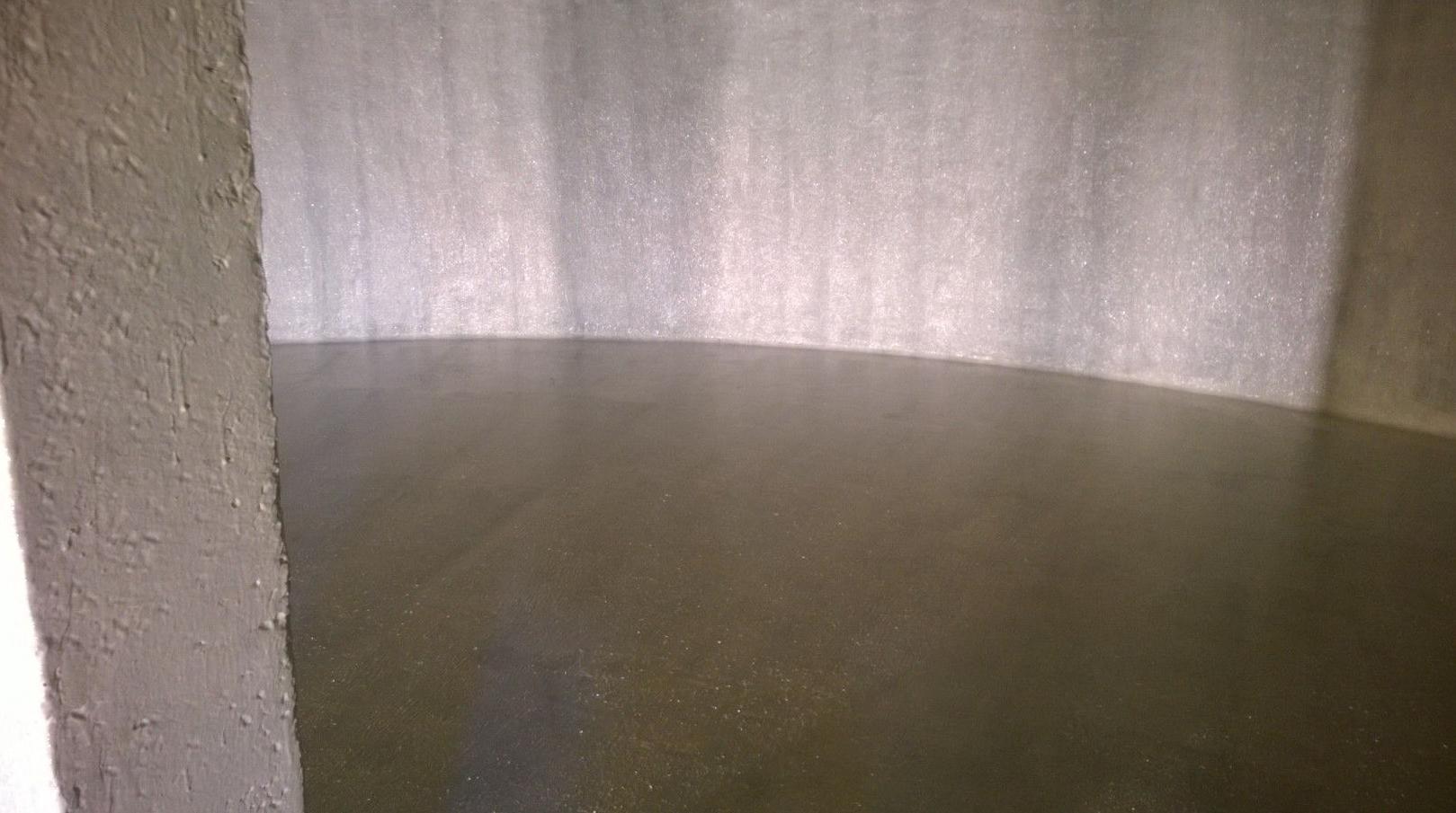 Impermeabilizacion paredes,viga y suelo deposito subterraneo.