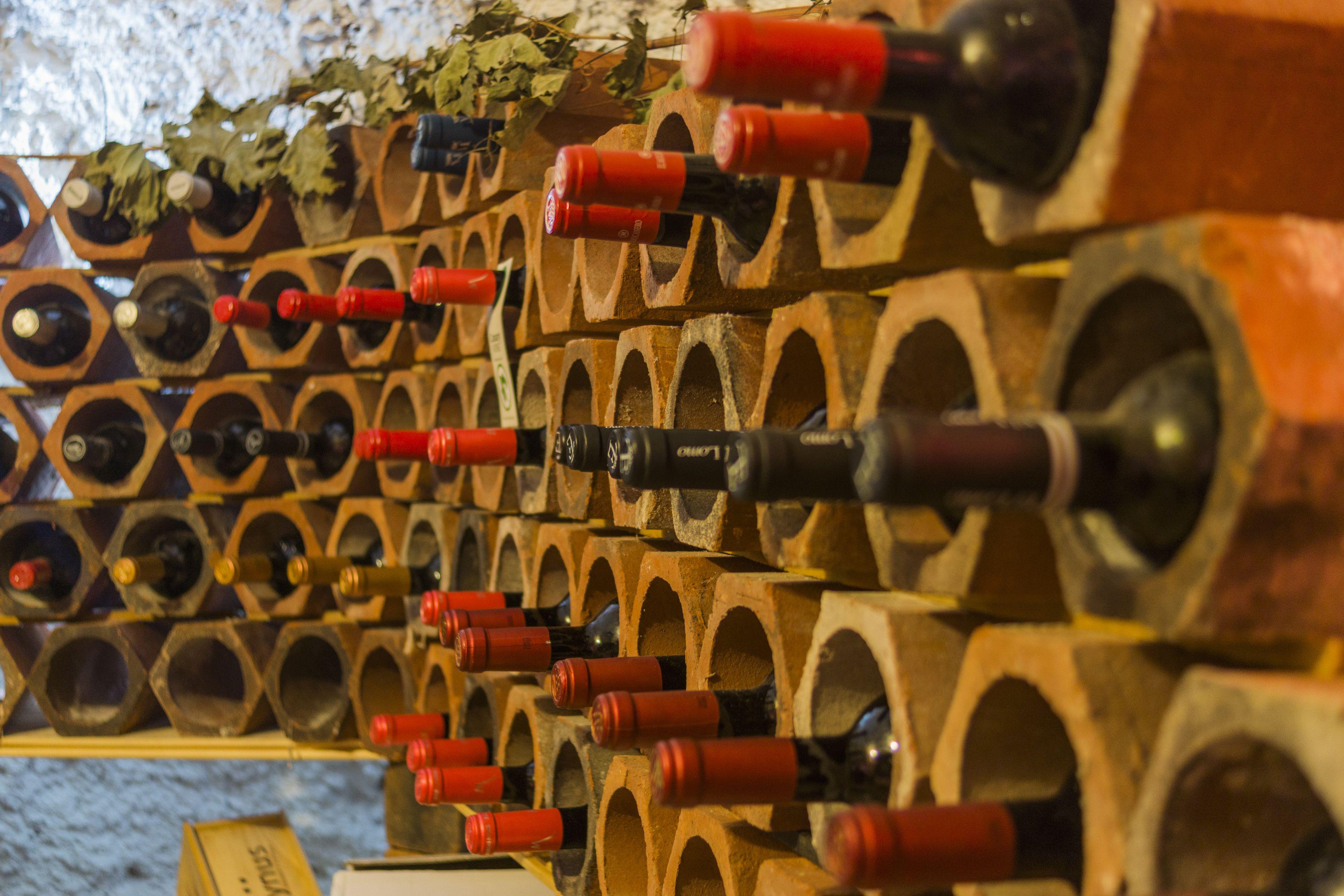 Amplia carta de vinos en Santa Cruz de Tenerife