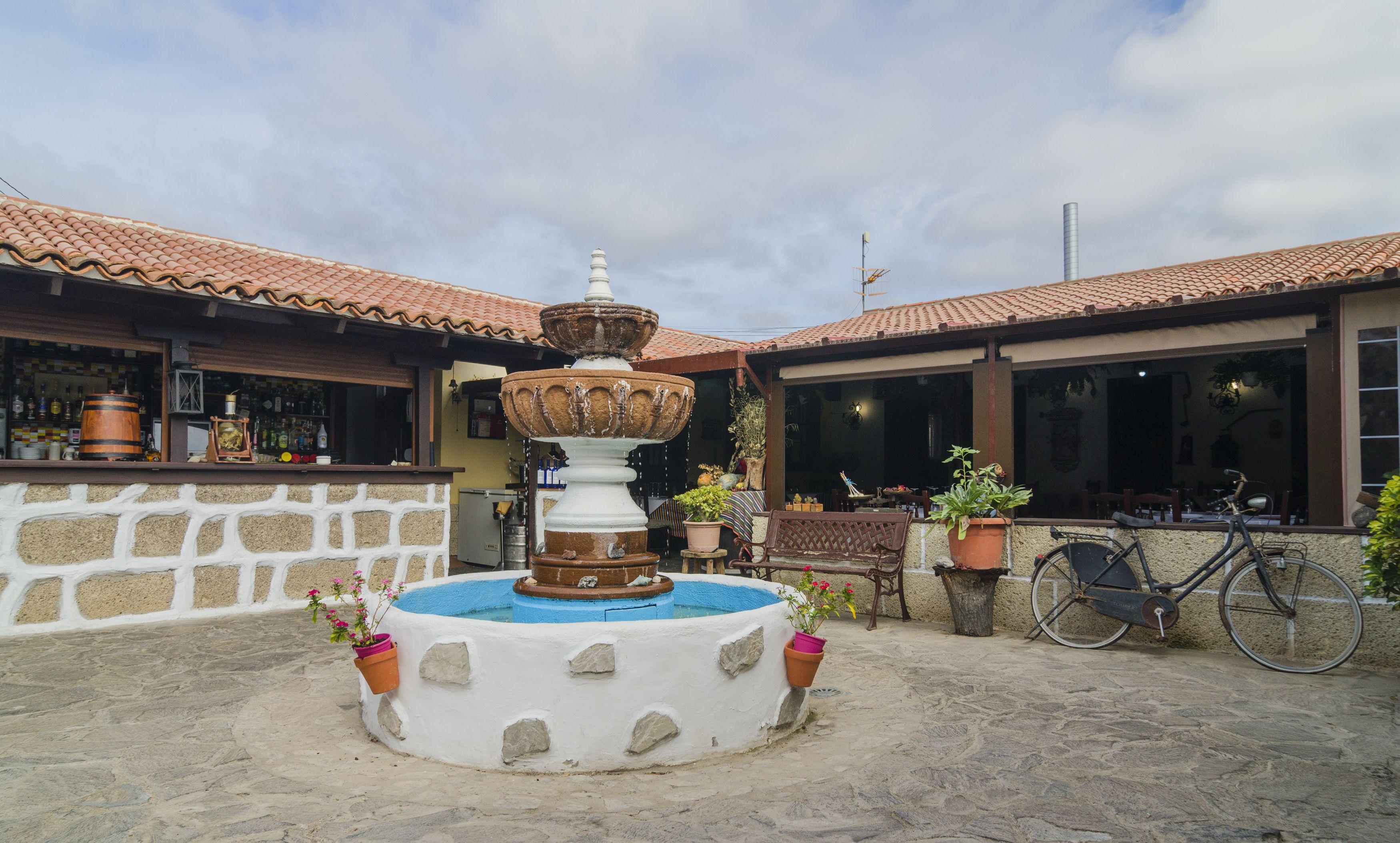 Patio de nuestro restaurante en Santa Cruz de Tenerife