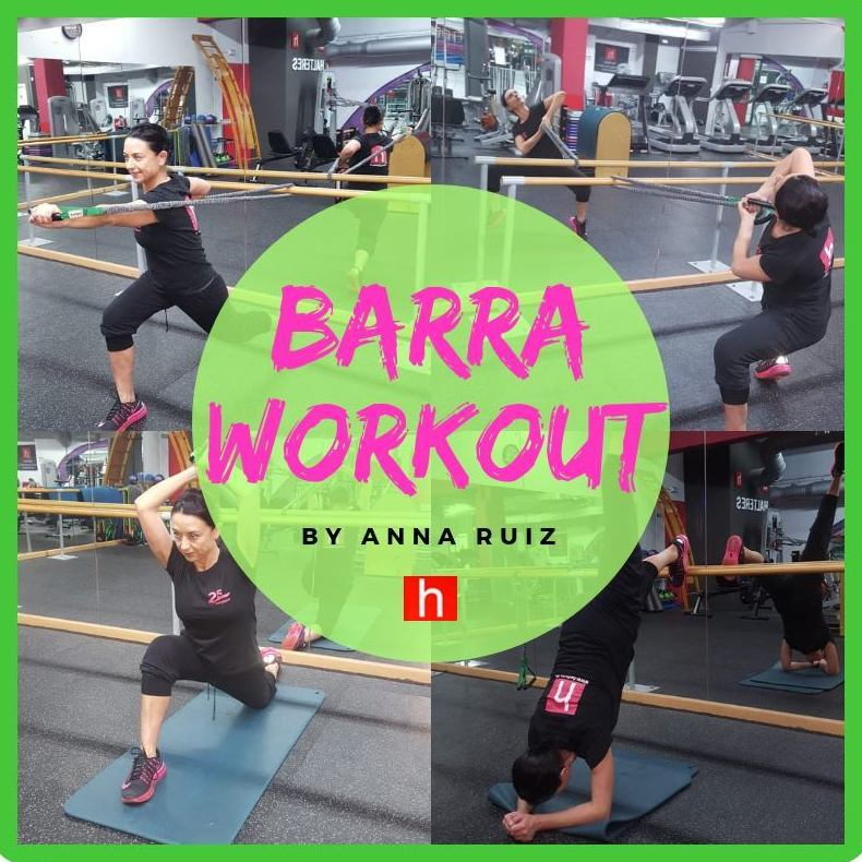 Entrenamientos con barra workout