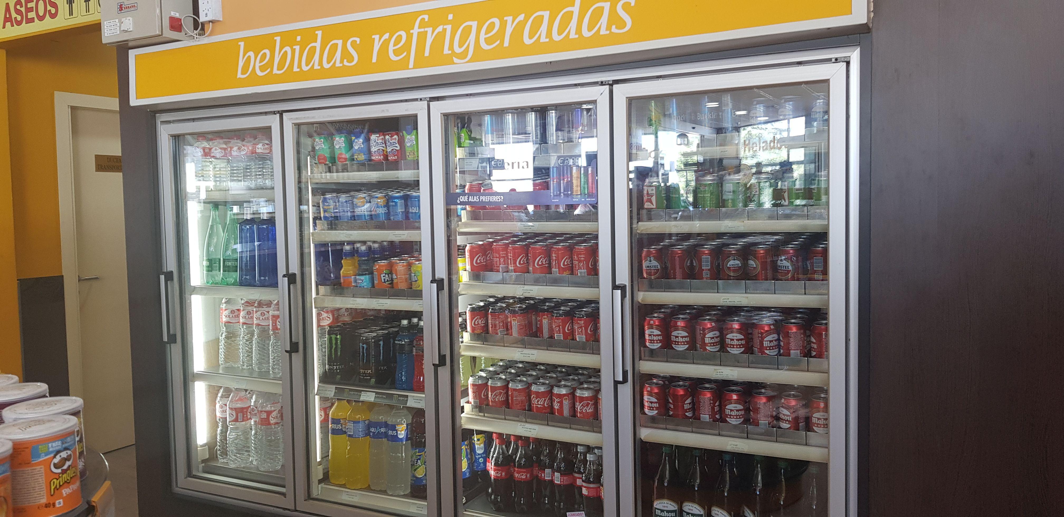 Estación de servicio con tienda de conveniencia en Montalvo