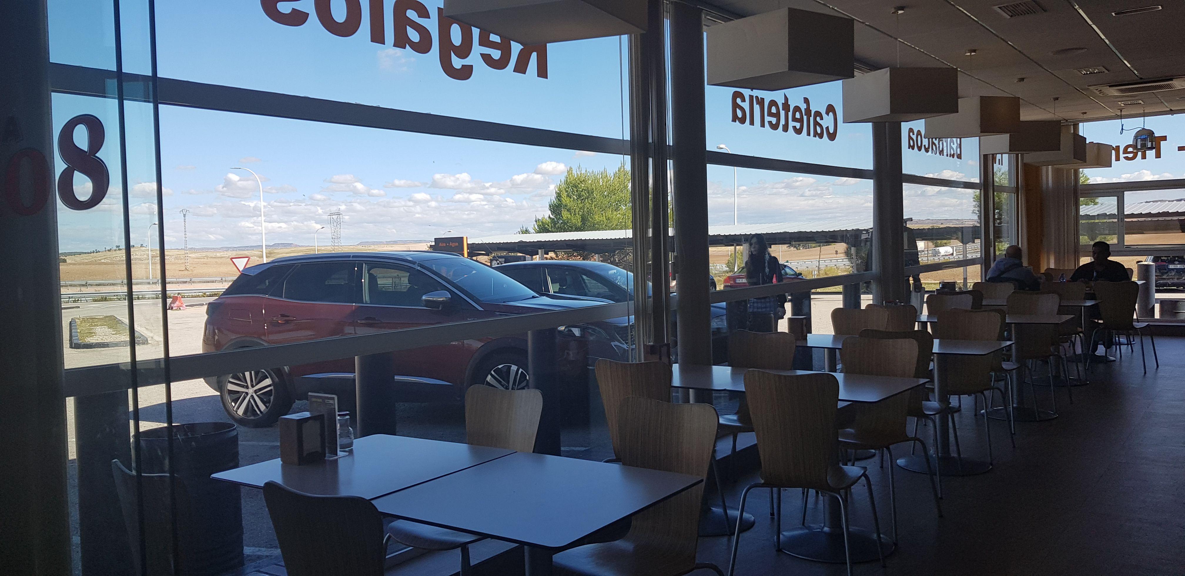 Cafetería: Servicios de Area108