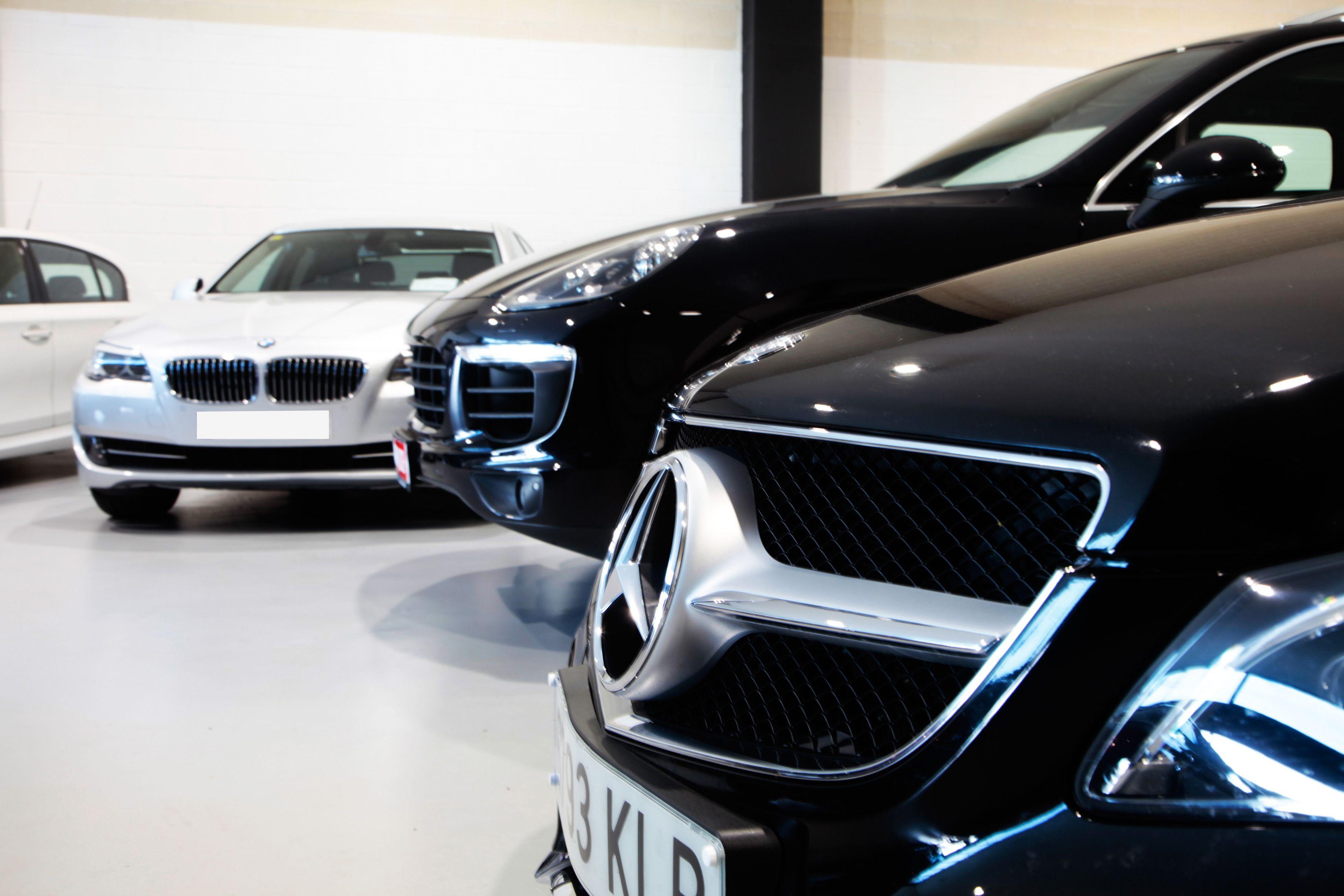 Venta de vehículos de marcas tan prestigiosas como Audi