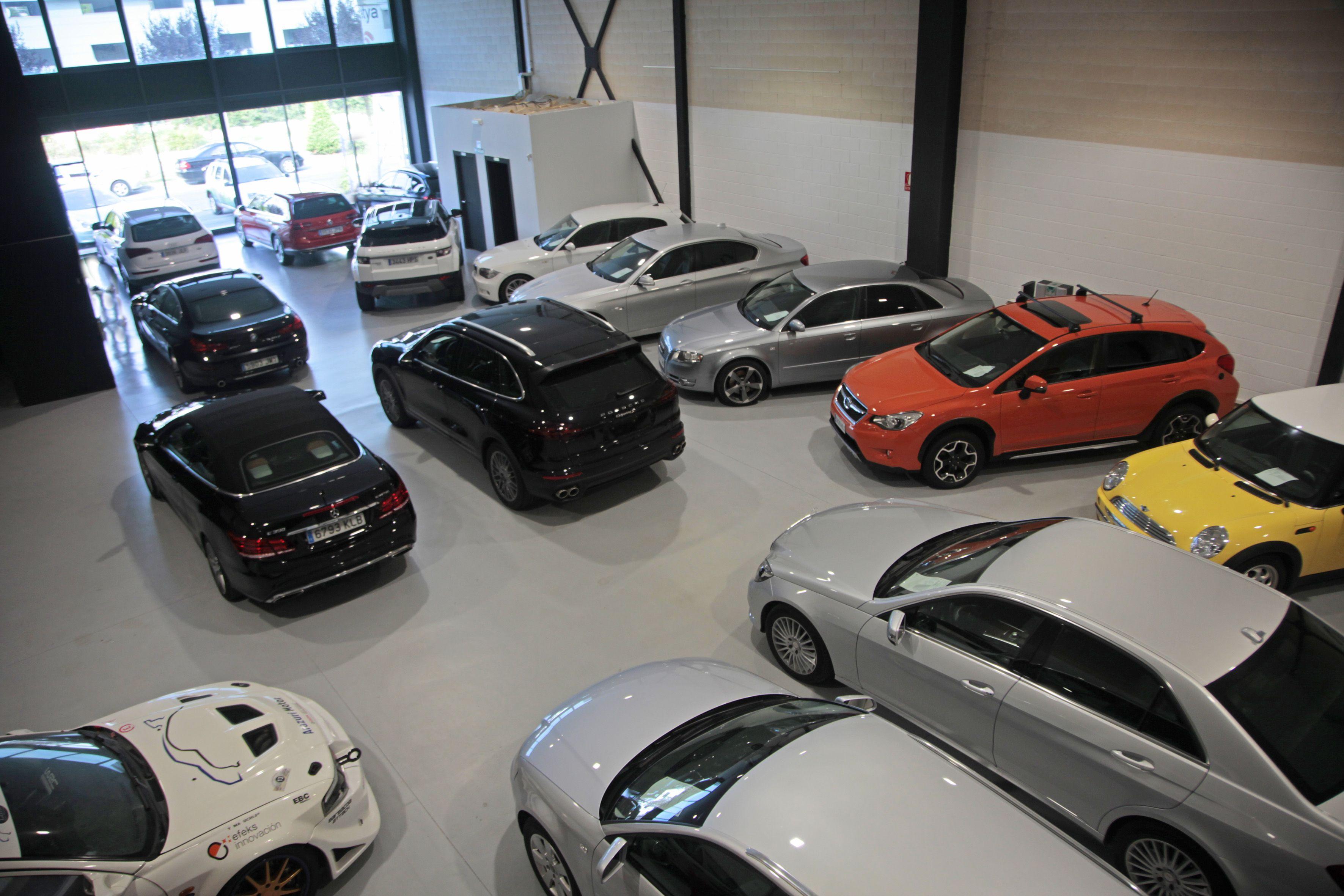 Venta de vehículos de marcas tan prestigiosas como Porche
