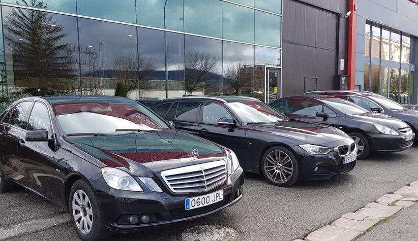 Exposición de vehículos en stock