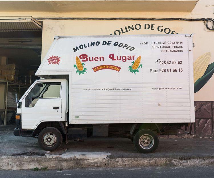 Distribución de harina de cereales tostados con gran calidad