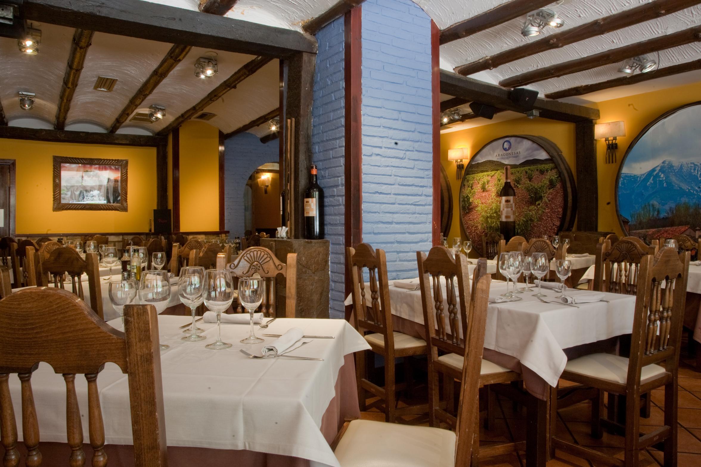 Restaurante especializado en asados en Zaragoza