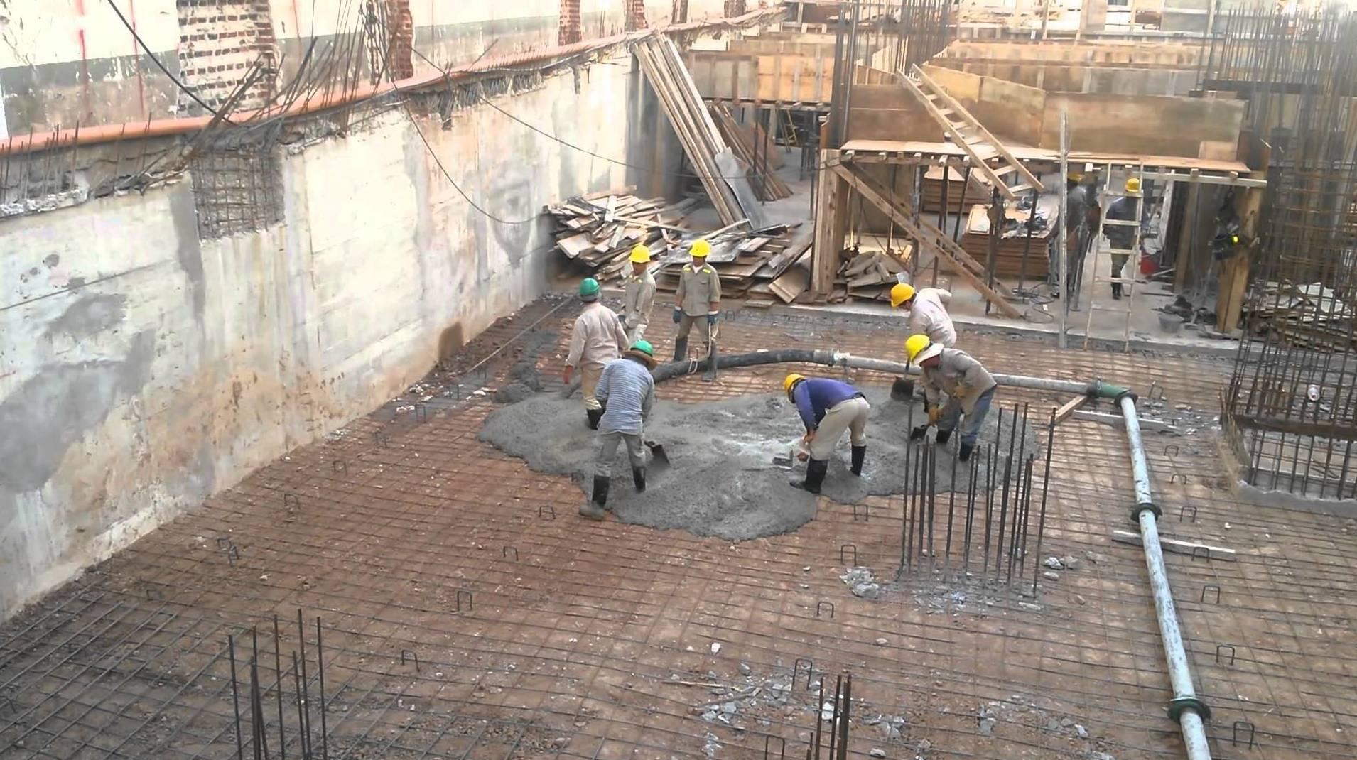 Gestión de obras con hormigón