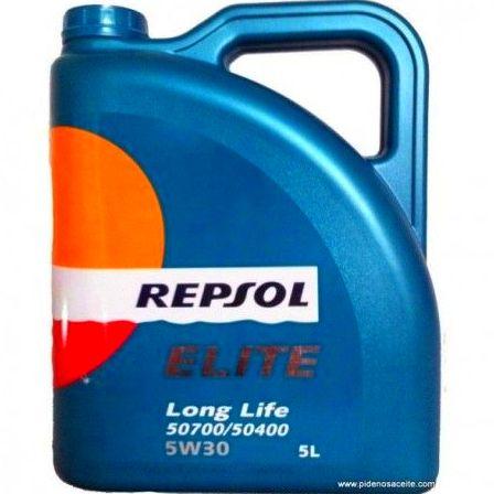 REPSOL 5W30 Long Life + FILTRO: Servicios de Auto Engrase Tenerías