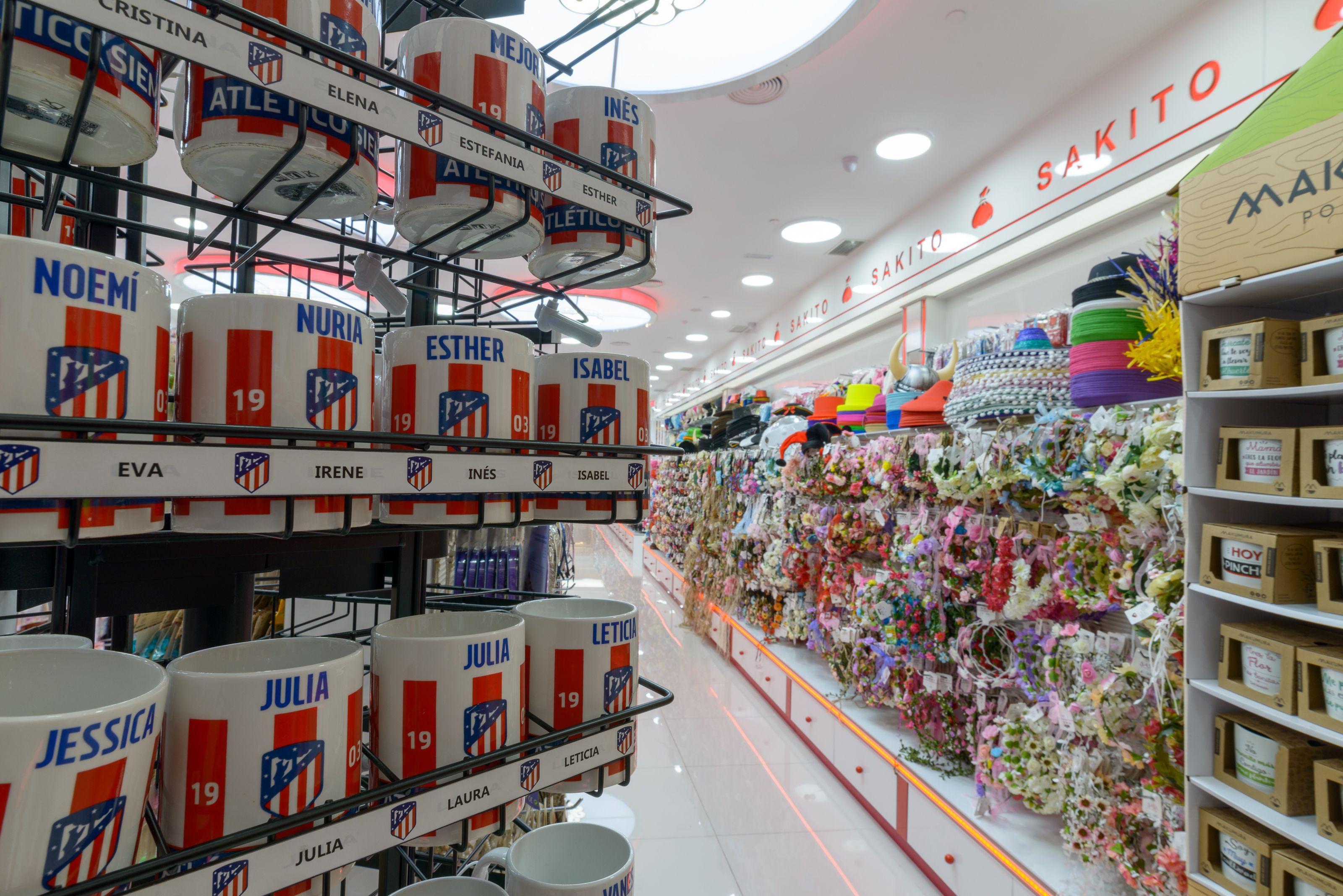 Tienda de venta de complementos en Torrejón de Ardoz