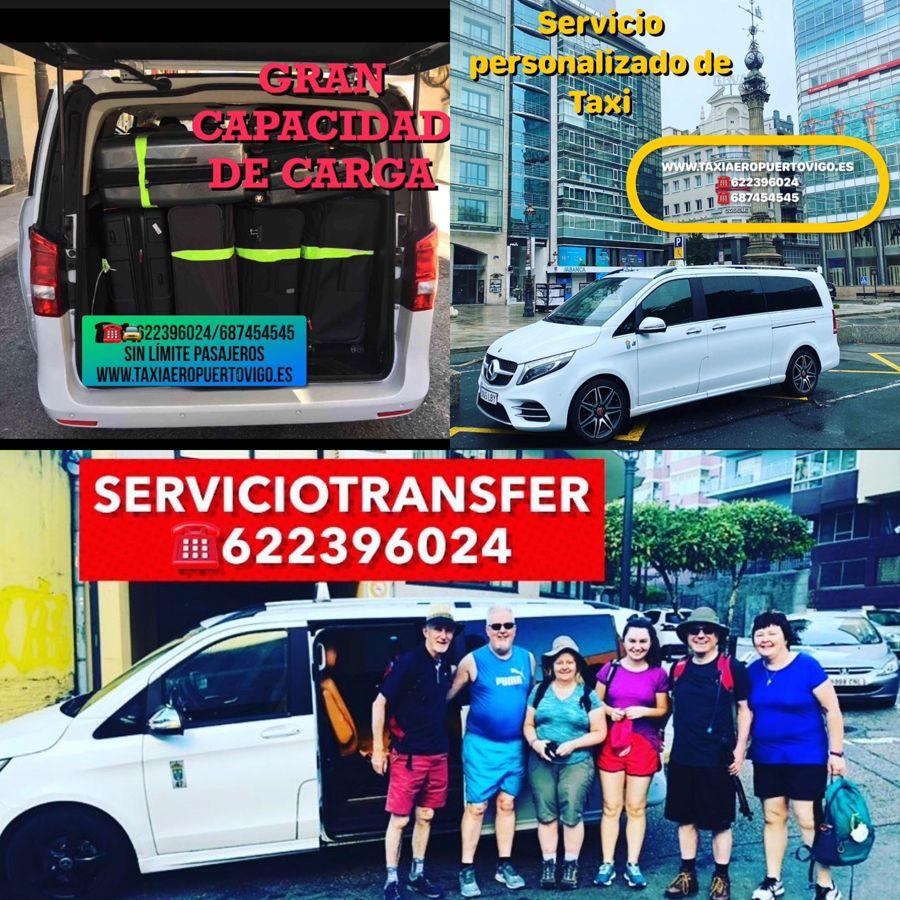Servicio de transfer 24 horas en Vigo