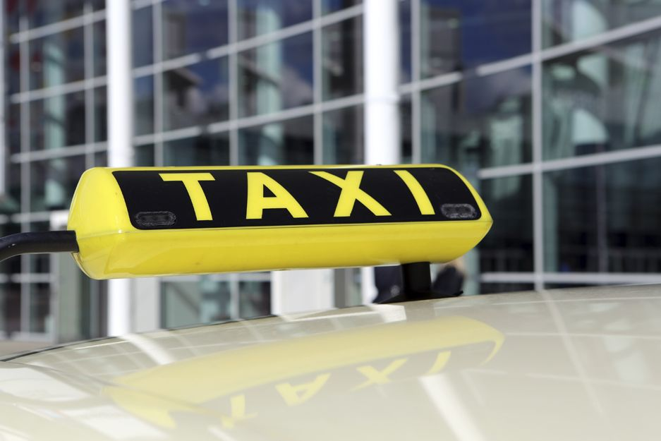Taxis en el aeropuerto de Vigo
