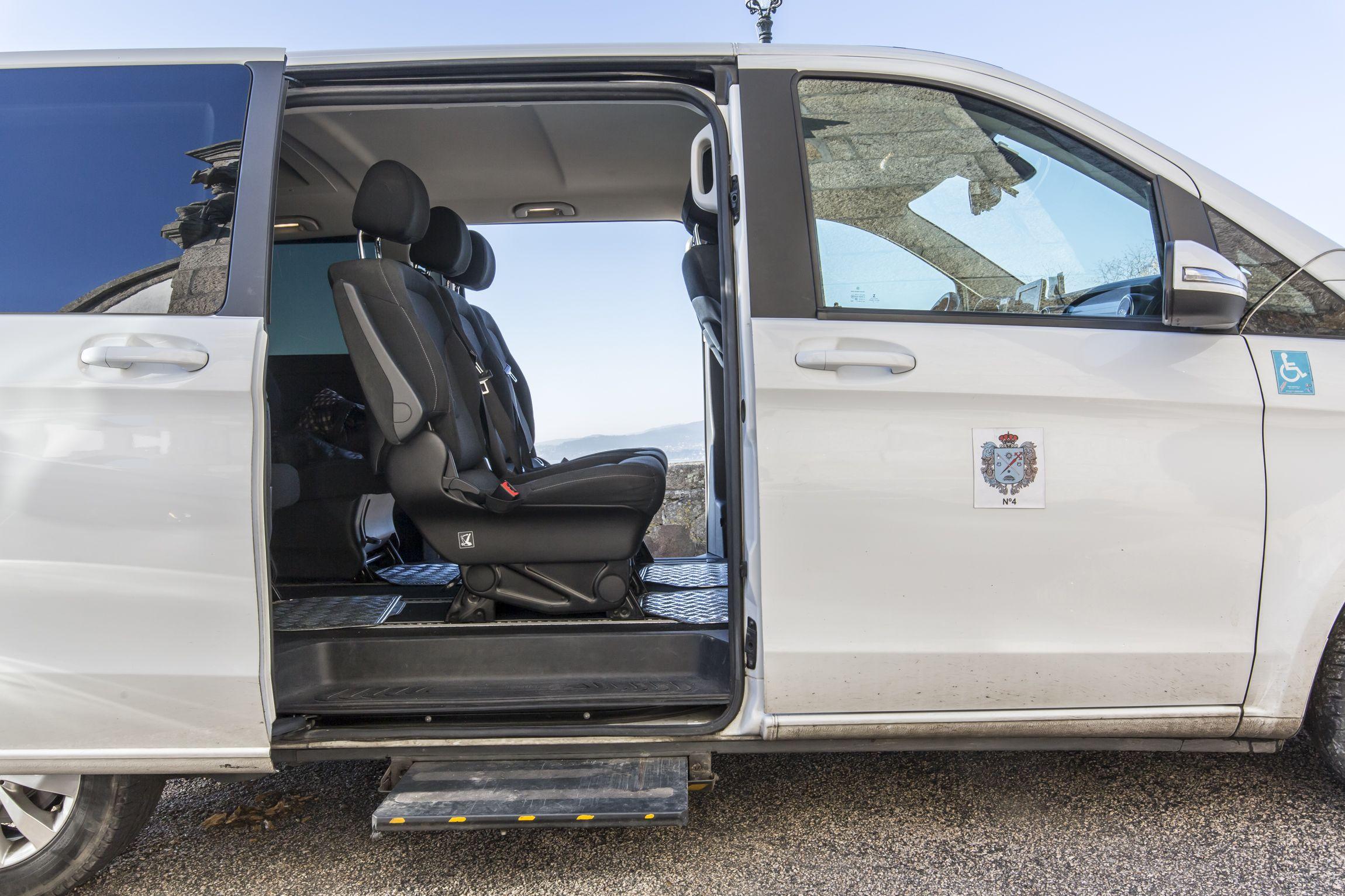 Taxis adaptados para sillas de ruedas en Vigo