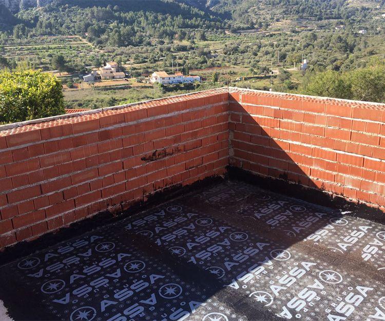 Impermeabilización de terrazas en Dénia
