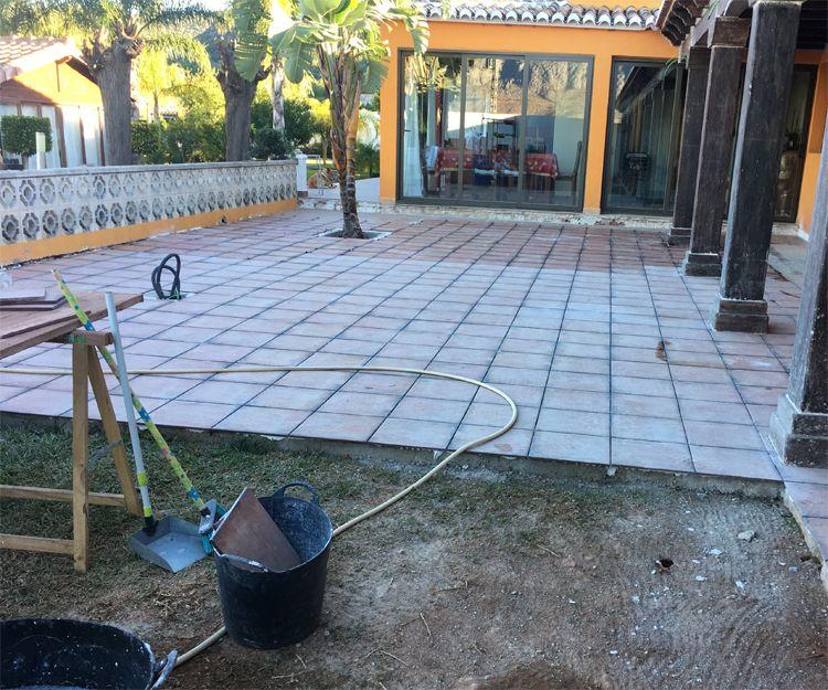 Instalación de suelos