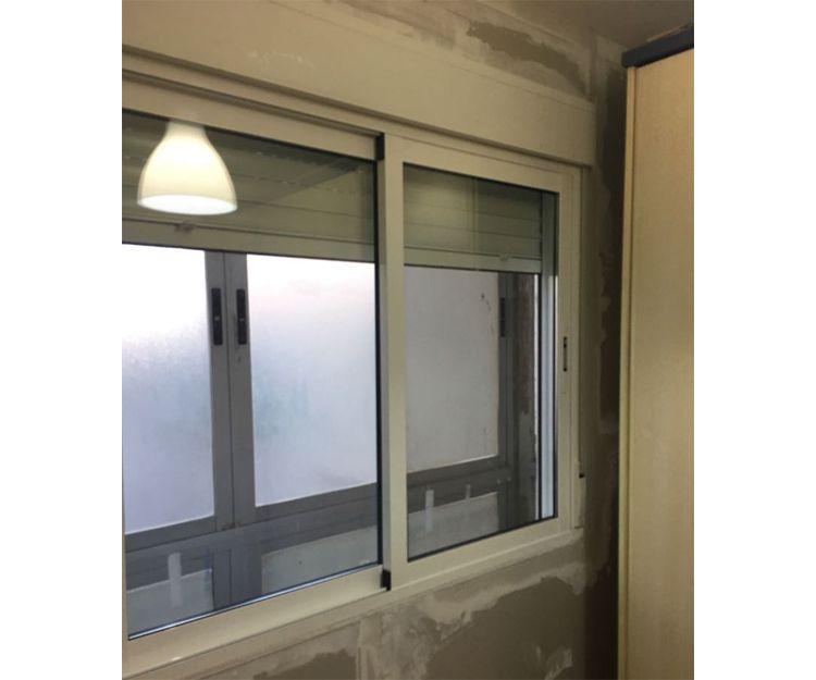 Instalación de ventanas de aluminio