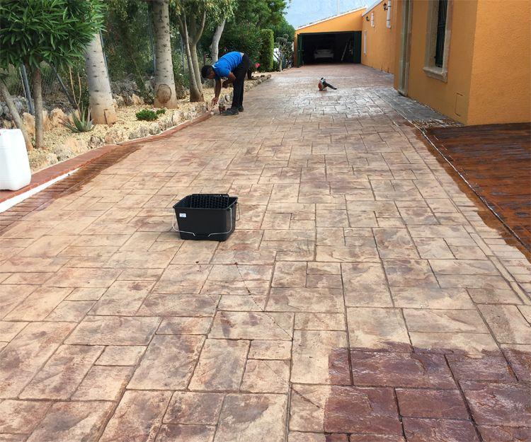 Instalación de suelo