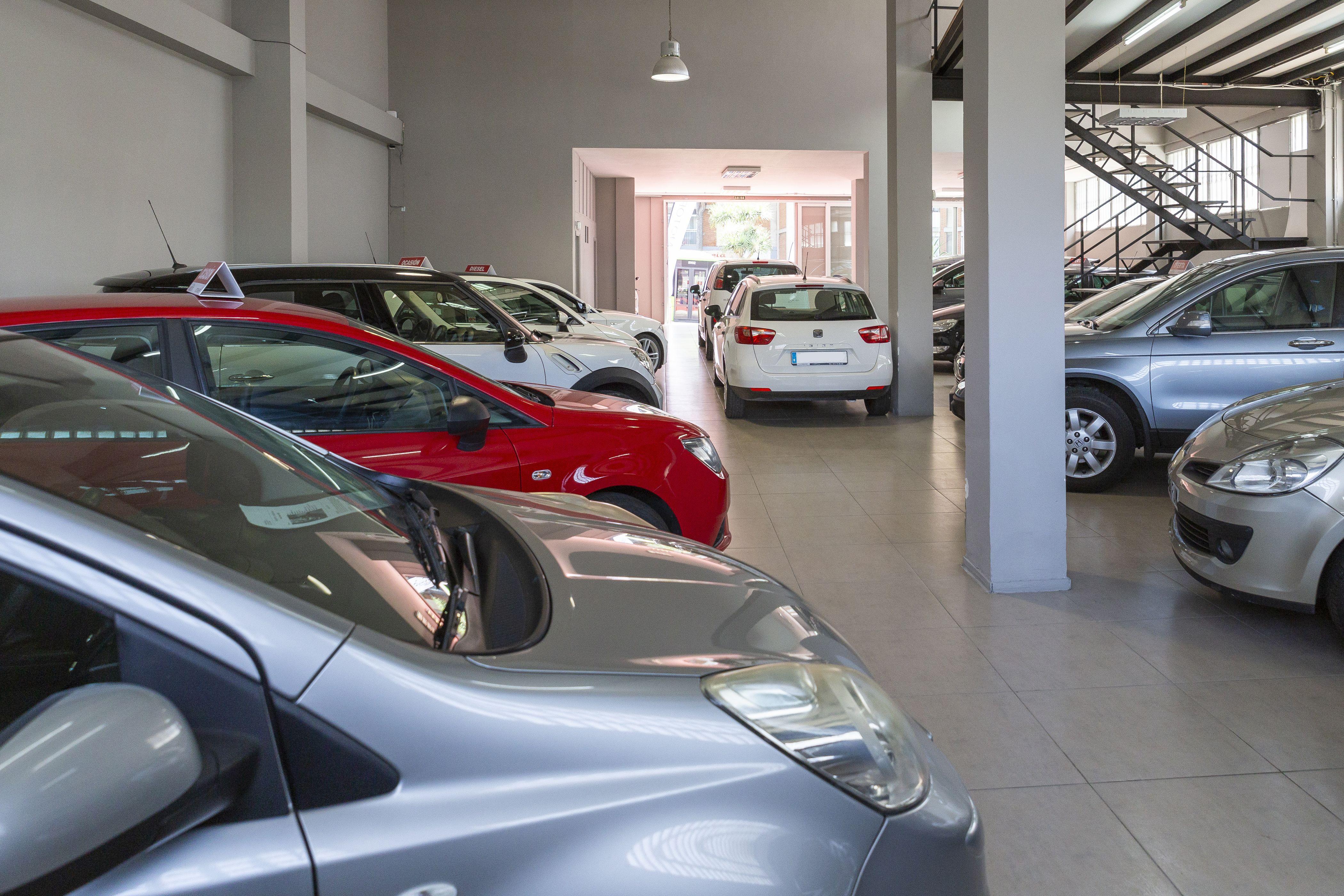 Automóviles de exposición