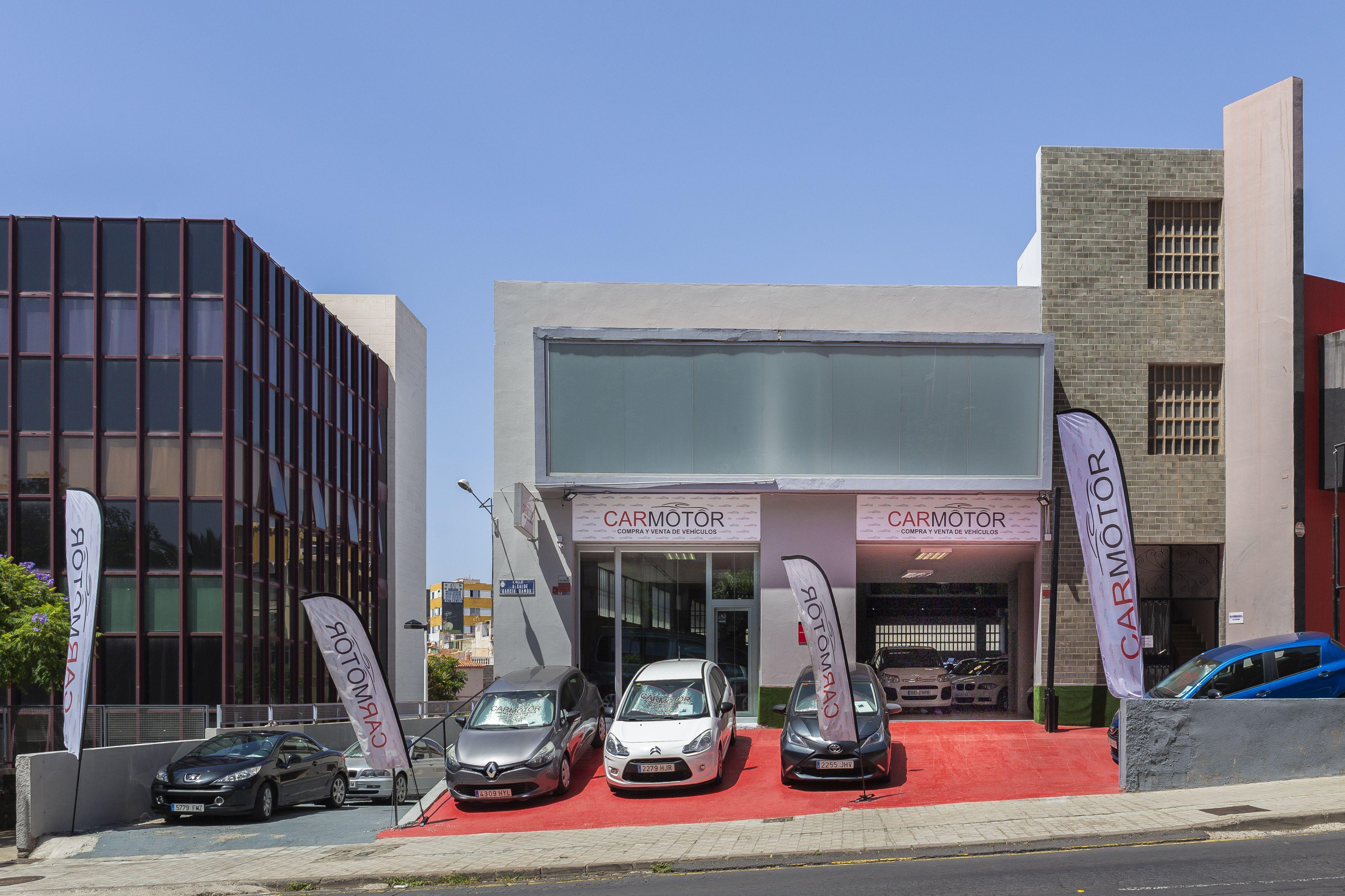 Taller y oficina de Carmotor