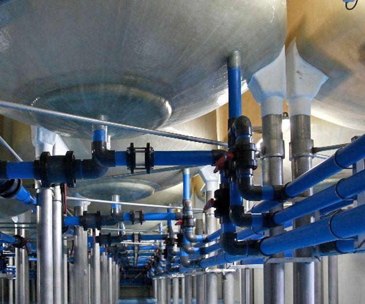 Fabricación de depósitos de agua en Sevilla