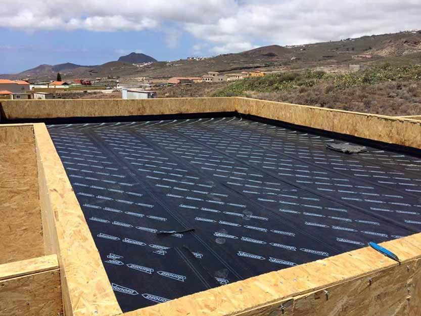 Impermeabilización de tejados en Tenerife