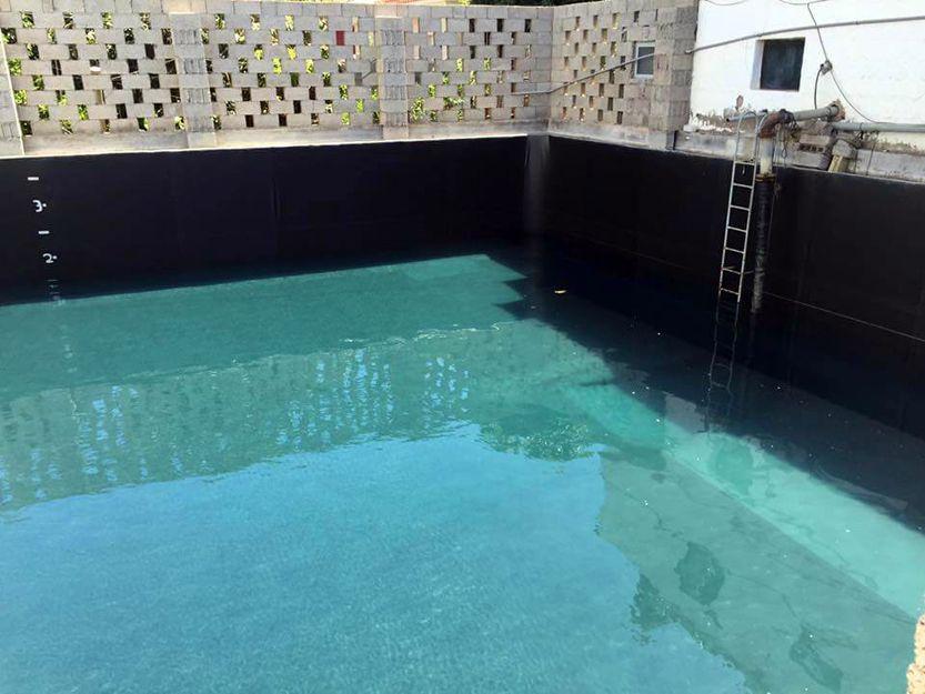 Impermeabilización de depósitos de agua en Santa Cruz de Tenerife