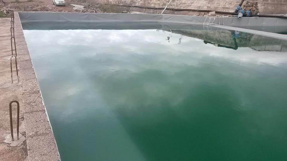 Impermeabilización de balsas de agua en Tenerife