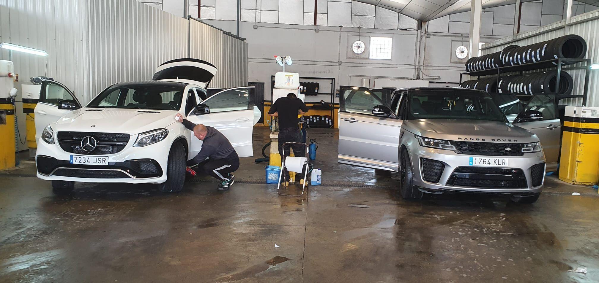 Limpieza integral de vehículos en Beniparrell