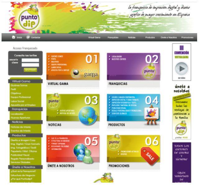 Diseño Web: Servicios de Punto Dip Vigo