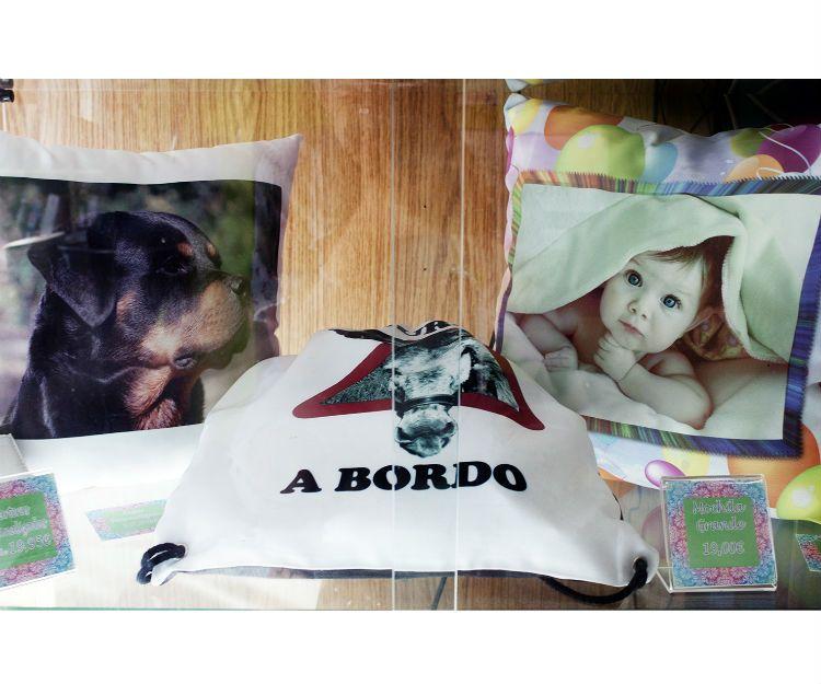 Cojines personalizados en Vigo