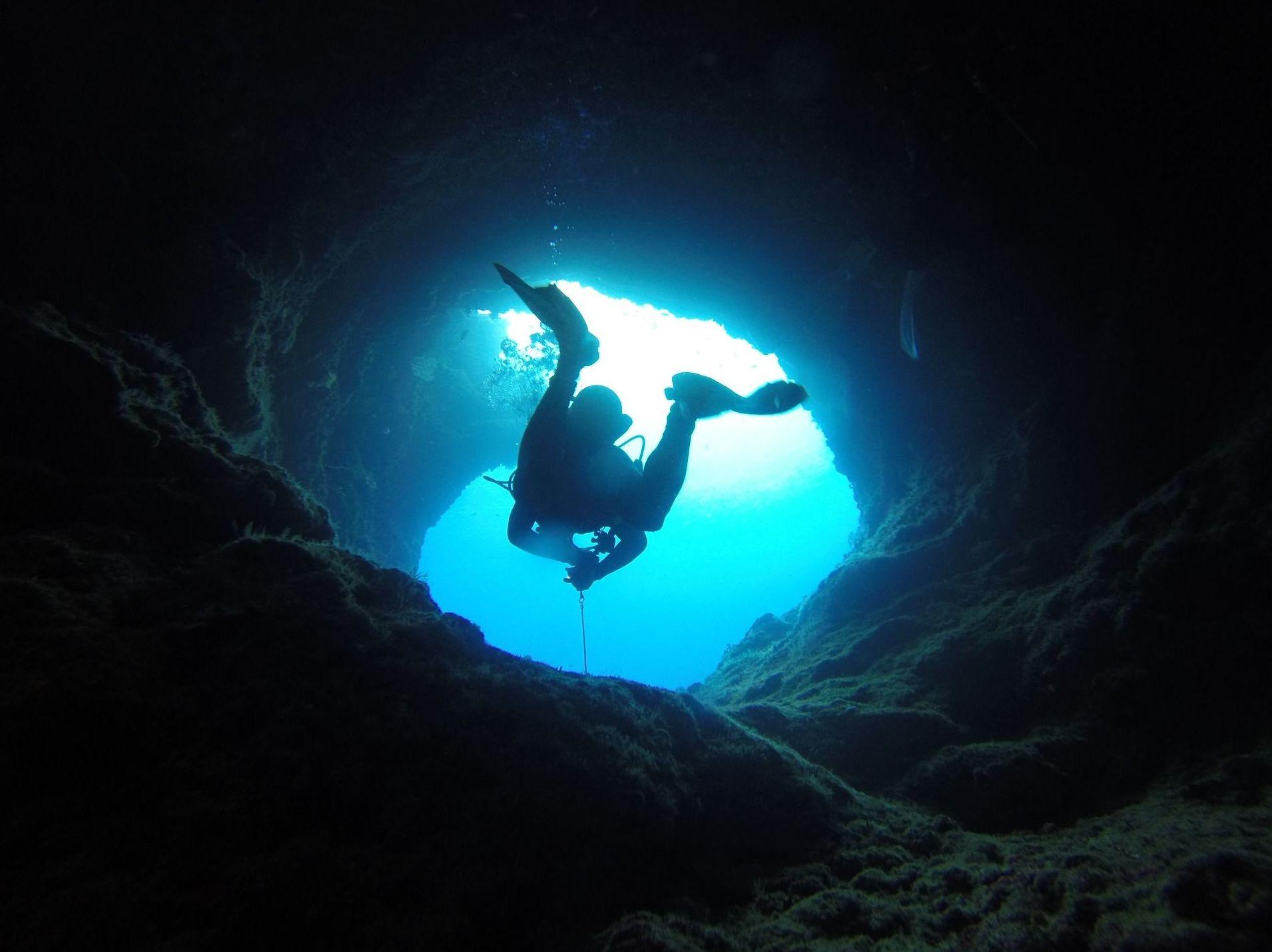 Grutas y cavernas: Cursos y actividades de Scuba Plus