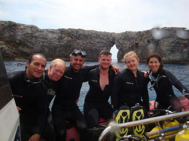 Clases de buceo en Menorca