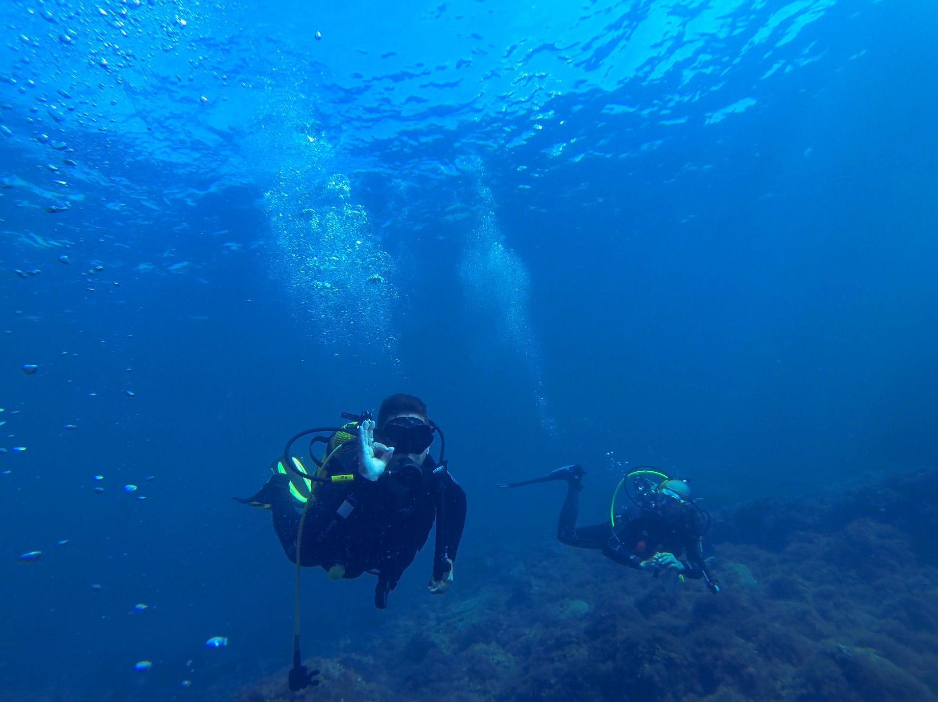 Scuba Plus buceo en Menorca - Especialidad Flotabilidad