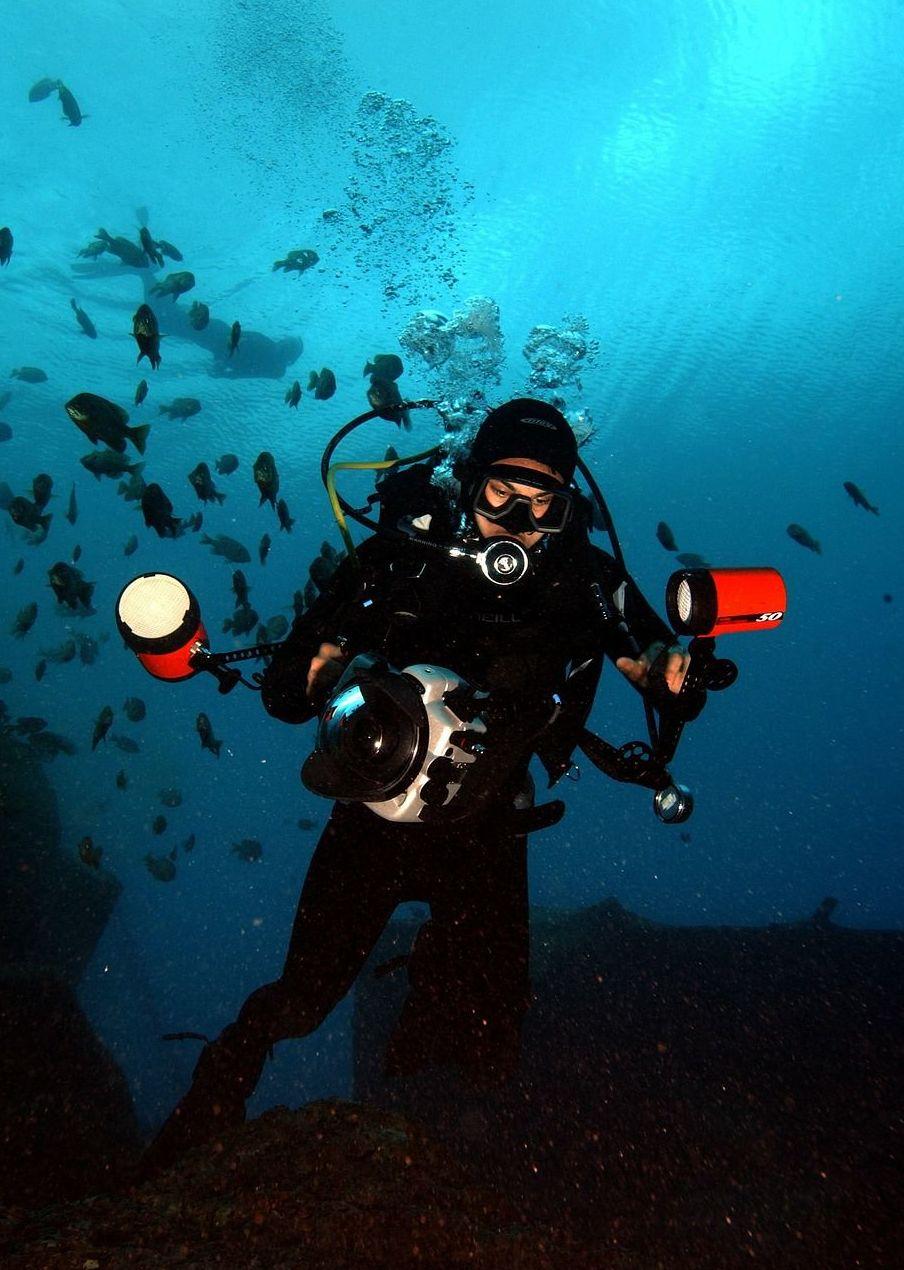 Fotografía subacuática digital: Cursos y actividades de Scuba Plus
