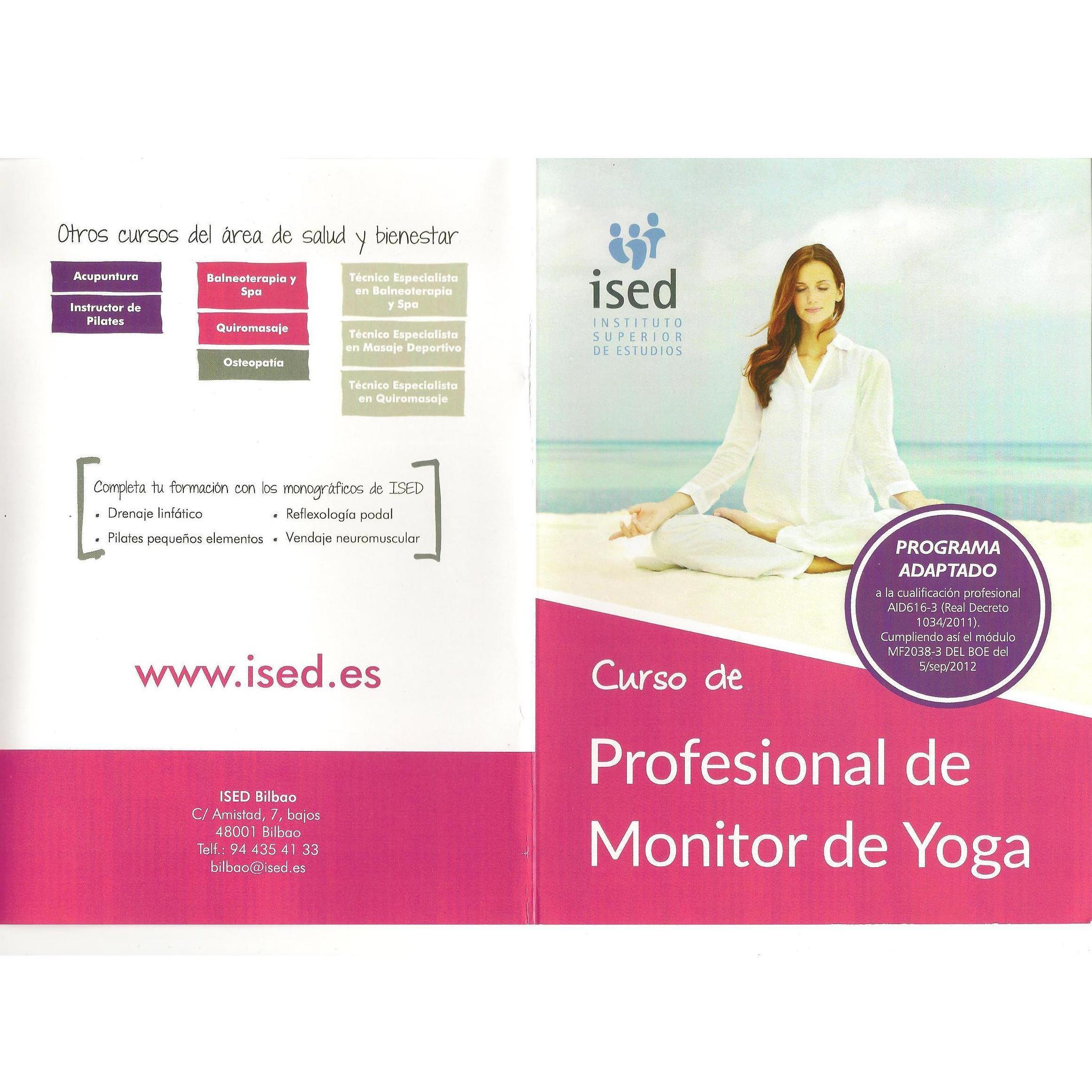 Curso de profesional de Monitor de Yoga