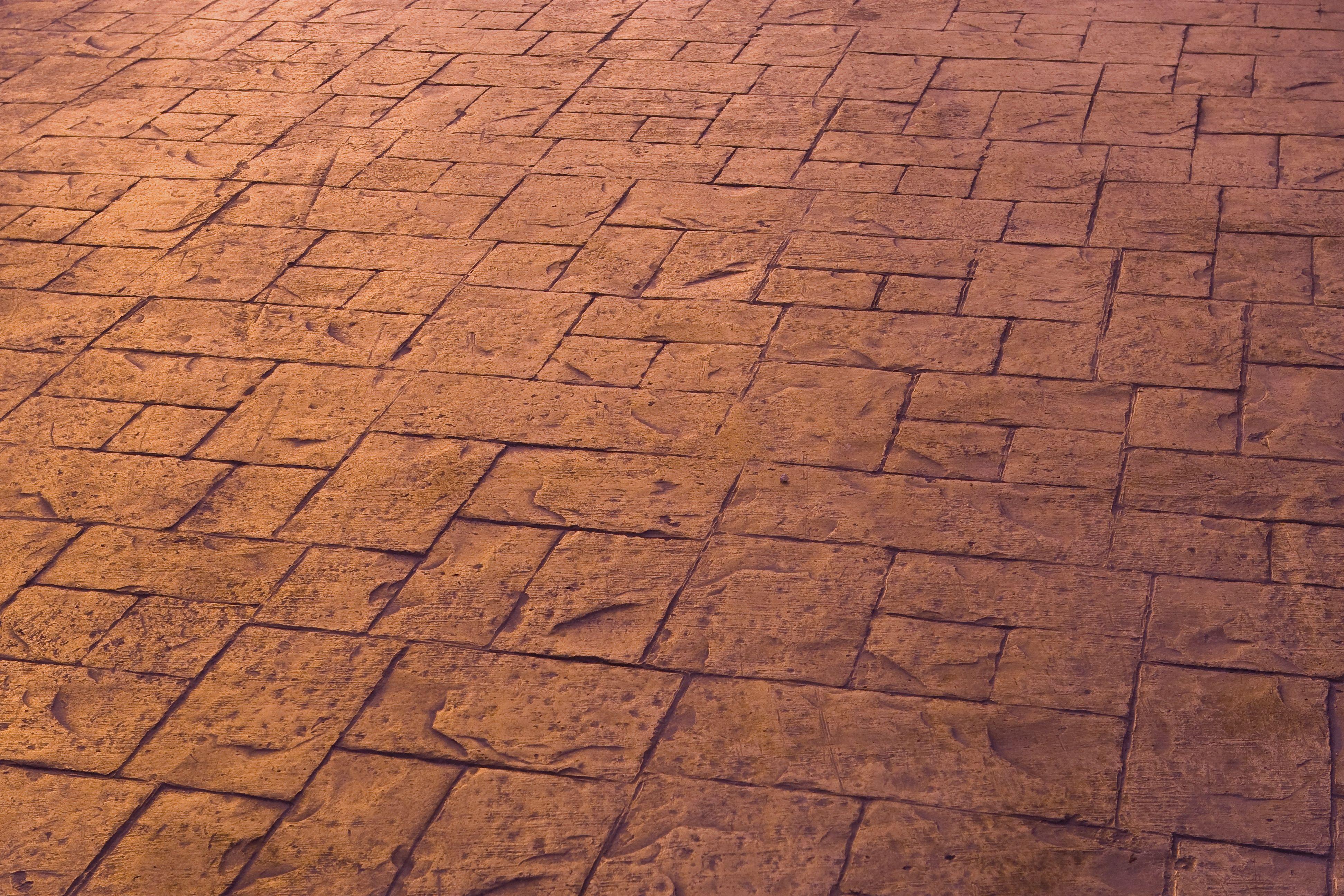 Pavimentos de diferentes texturas y formas