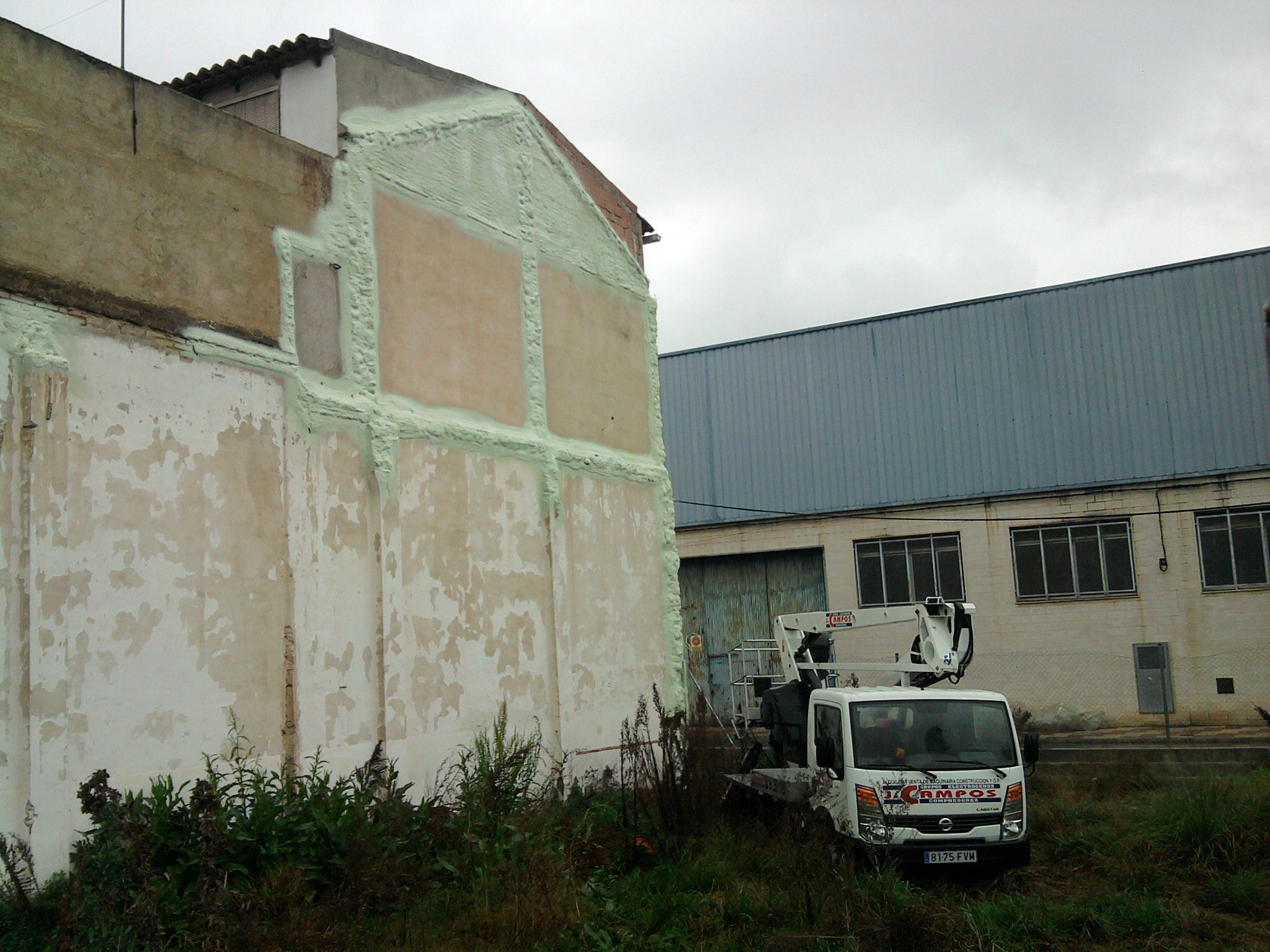 Impermeabilidad de paredes: Servicios de Technopol