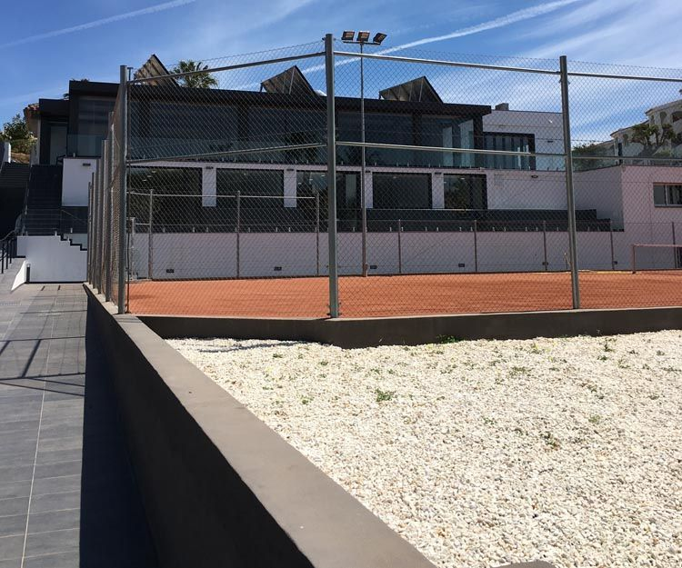 Reformas de pistas de tenis en Marbella