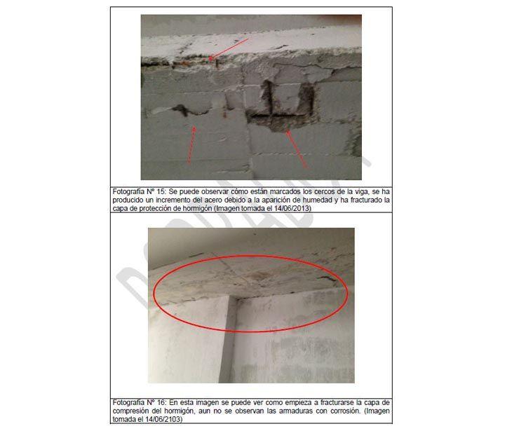 Informe sobre patologías y desperfectos en Málaga