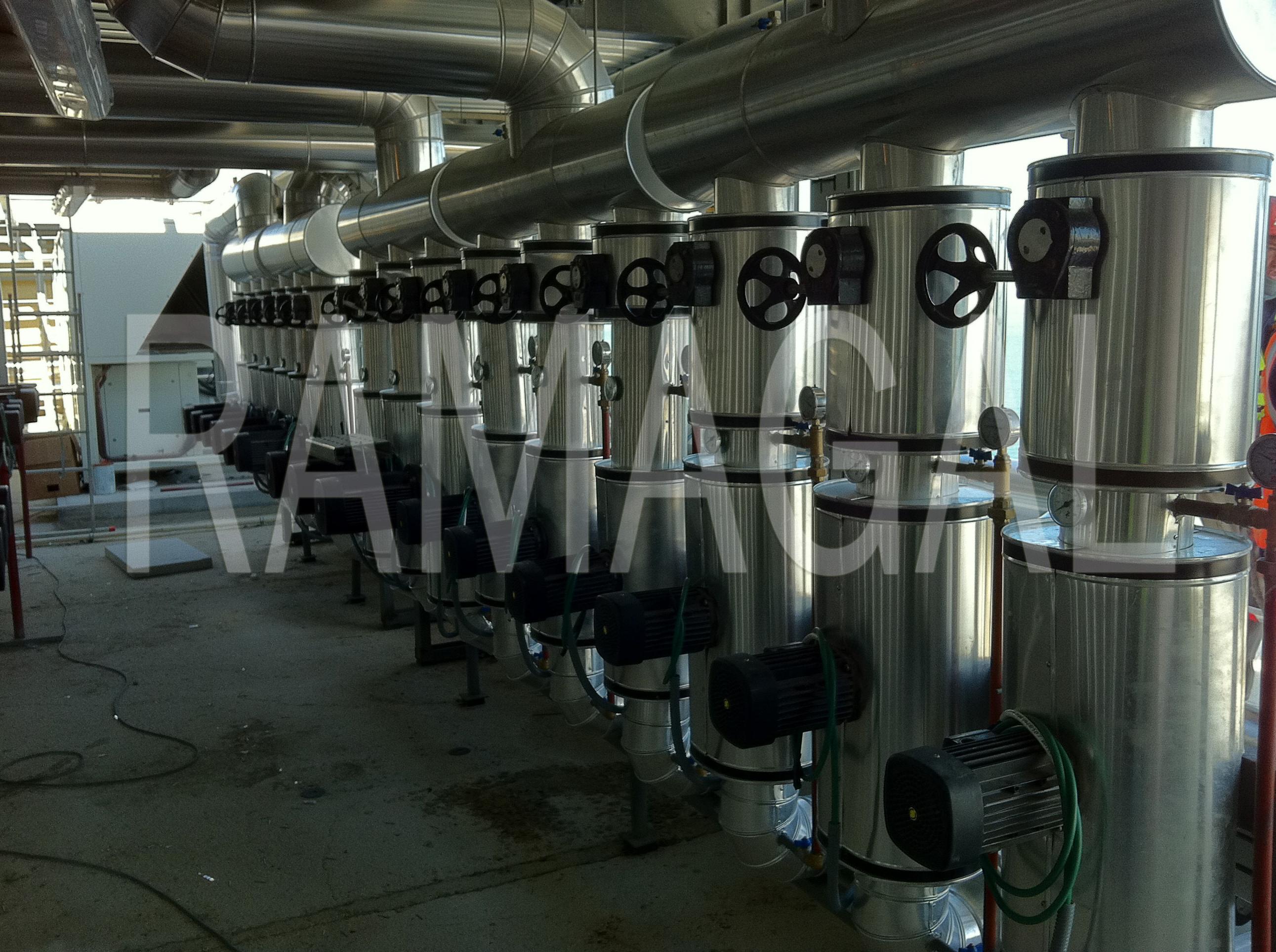 Aislamientos térmicos: Servicios de RAMAGAL, S.C.