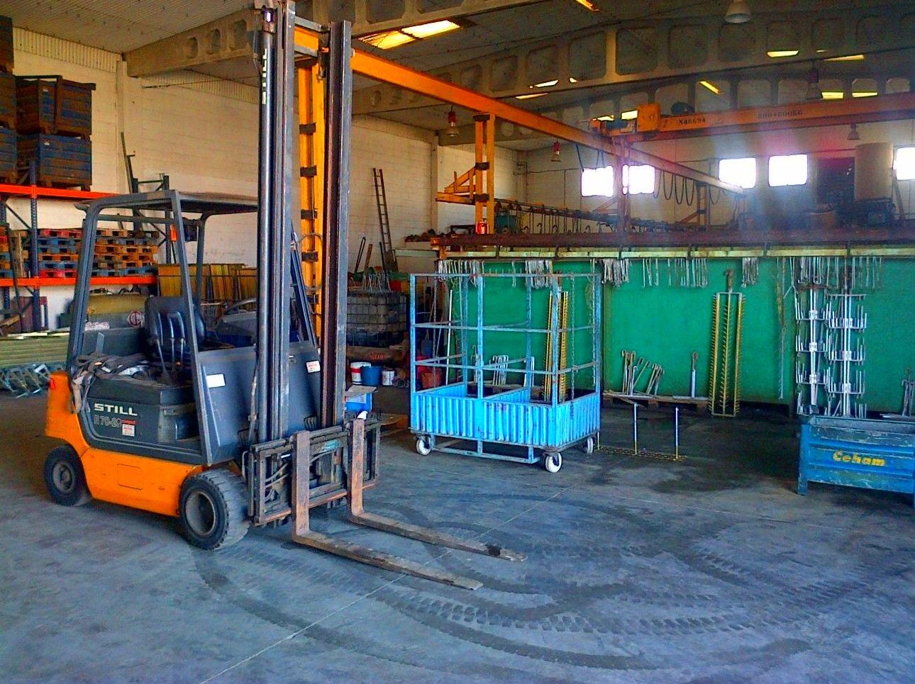Foto 8 de Galvanizados en Alcalá de Guadaíra | Industria Sevillana del Zinc, S.C.