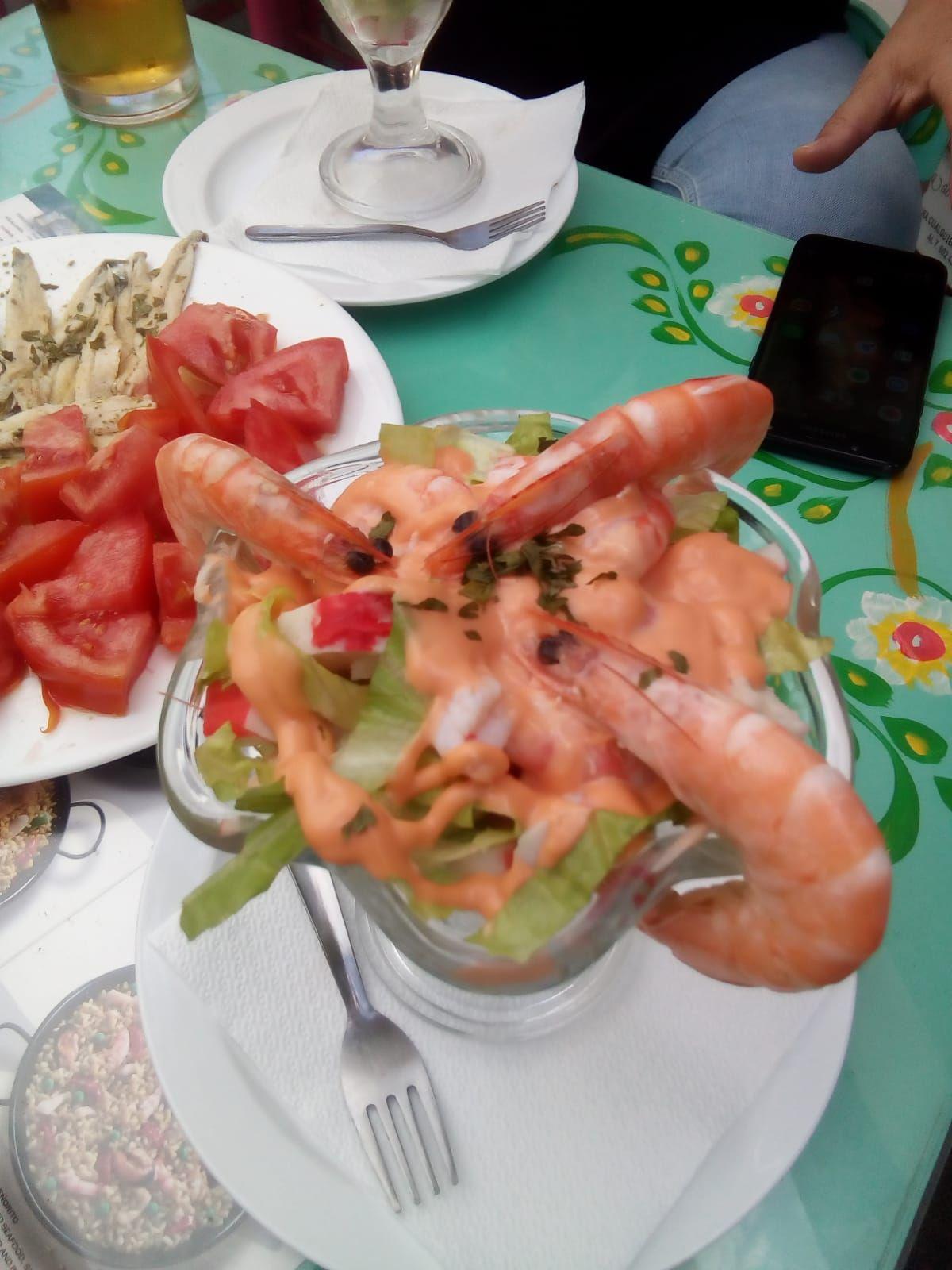 Tapas de marisco en Canarias