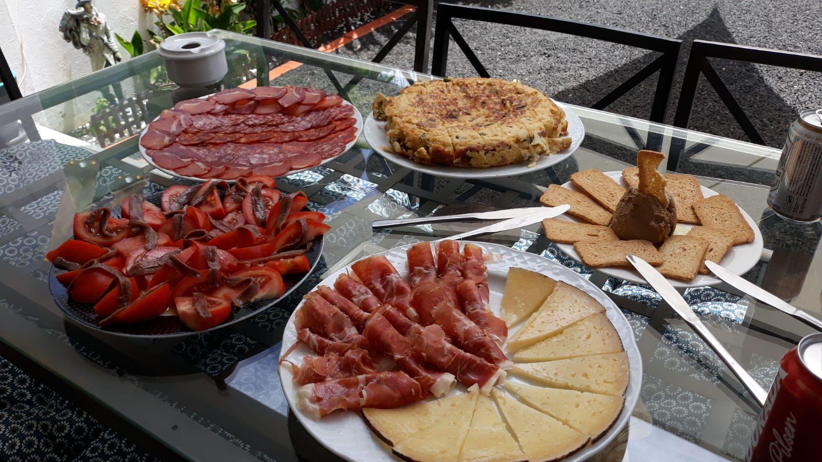Tapas de cocina mediterránea en Las Palmas