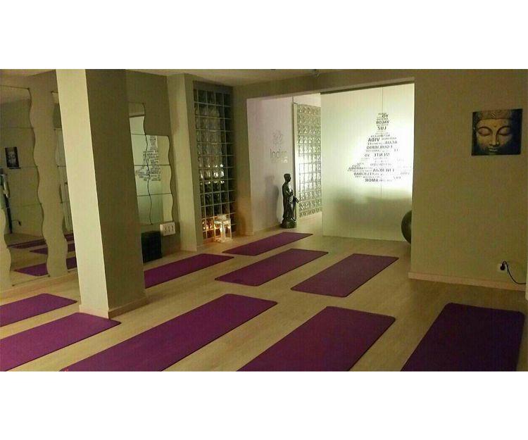 Interior del centro de yoga