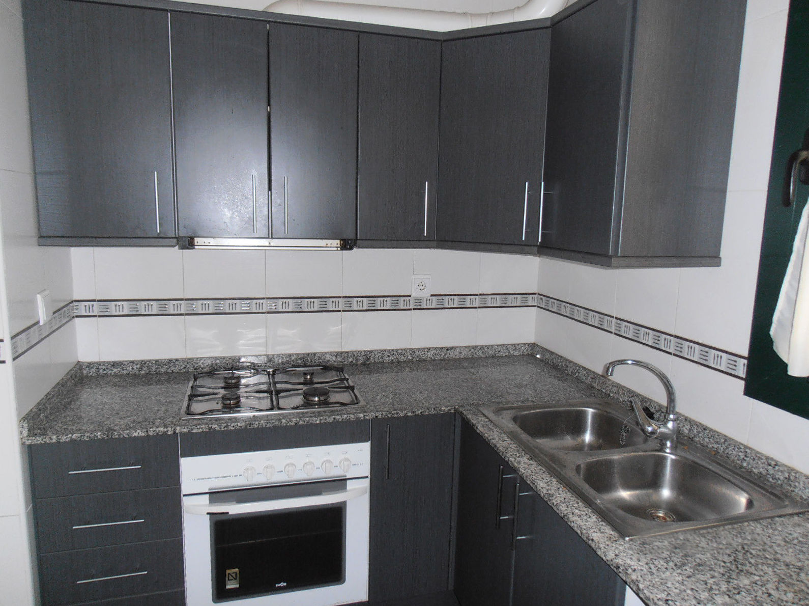 Vista de la cocina de uno de nuestros pisos