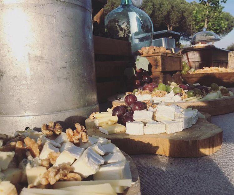 Los mejores quesos para nuestro servicio de catering